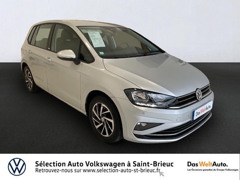 Volkswagen Golf Sportsvan 1.6 TDI 115ch BlueMotion Technology FAP Connect DSG7 Euro6d-T Diesel GRIS ARGENT Occasion à vendre