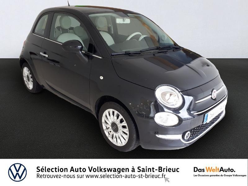 Fiat 500 1.2 8v 69ch Lounge Dualogic Essence NOIR Occasion à vendre