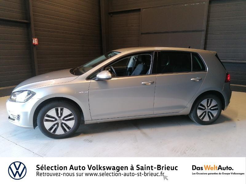 Photo 2 de l'offre de VOLKSWAGEN e-Golf 136ch à 24990€ chez Prestige Automobiles – Audi St Brieuc