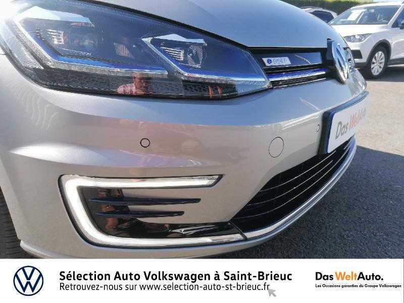 Photo 18 de l'offre de VOLKSWAGEN e-Golf 136ch à 24990€ chez Prestige Automobiles – Audi St Brieuc