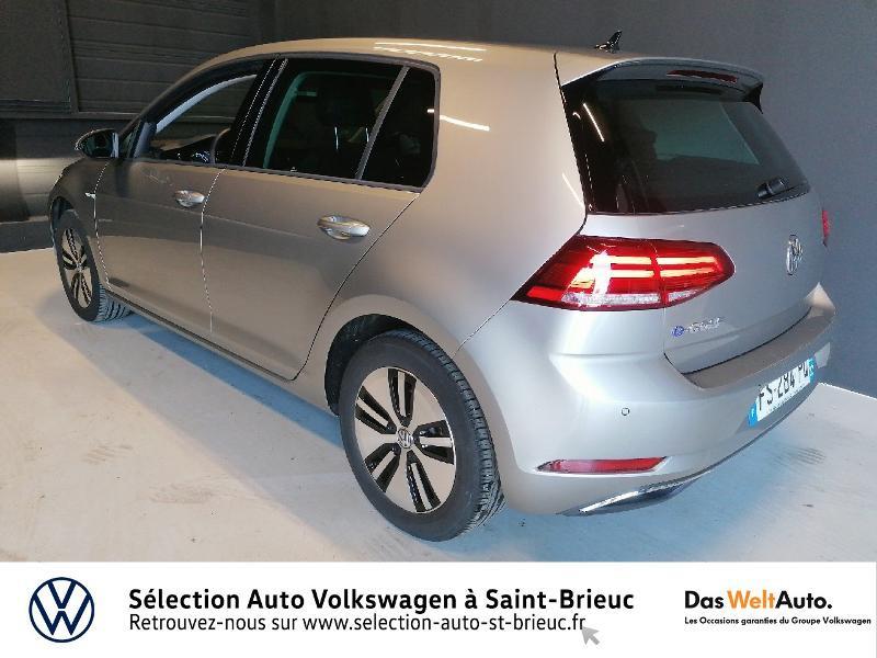 Photo 3 de l'offre de VOLKSWAGEN e-Golf 136ch à 24990€ chez Prestige Automobiles – Audi St Brieuc