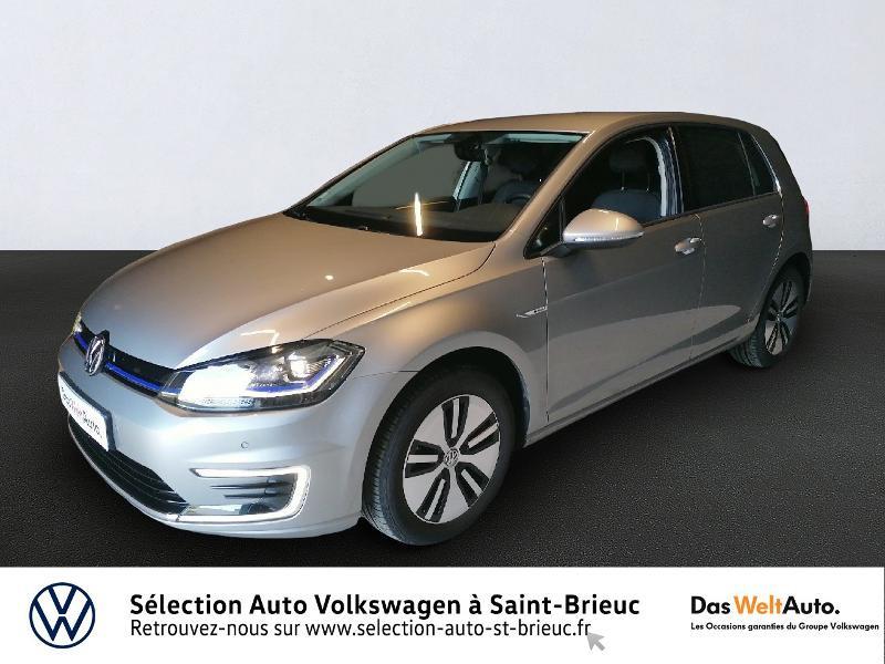 Photo 1 de l'offre de VOLKSWAGEN e-Golf 136ch à 24990€ chez Prestige Automobiles – Audi St Brieuc