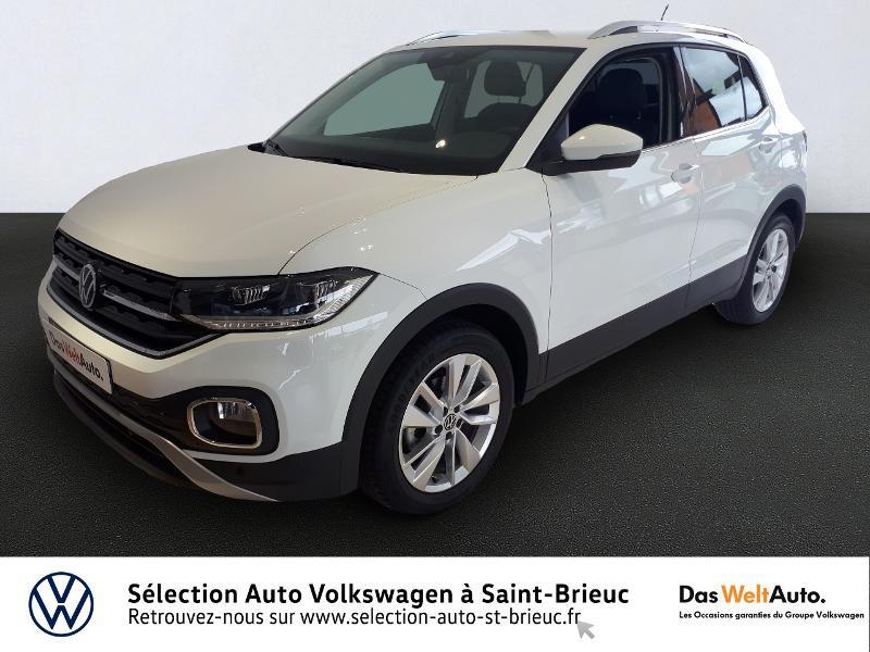Volkswagen T-Cross 1.0 TSI 115ch Carat Essence BLANC PUR Occasion à vendre