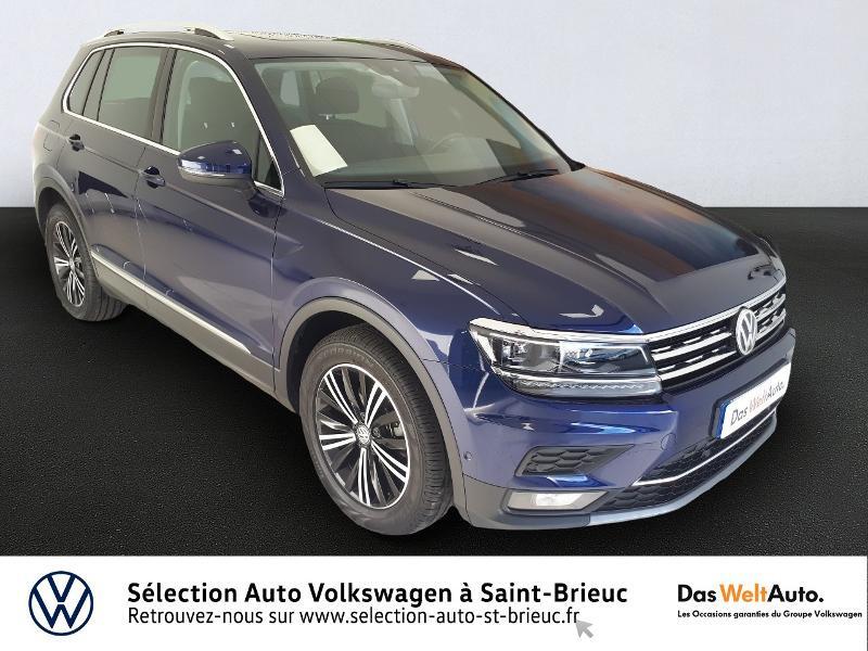 Volkswagen Tiguan 1.5 TSI EVO 150ch Carat DSG7 Euro6dT Essence BLEUE Occasion à vendre