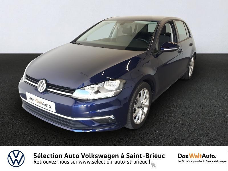 Volkswagen Golf 2.0 TDI 150ch FAP Confortline Business DSG7 Euro6d-T 5p Diesel Bleu Occasion à vendre