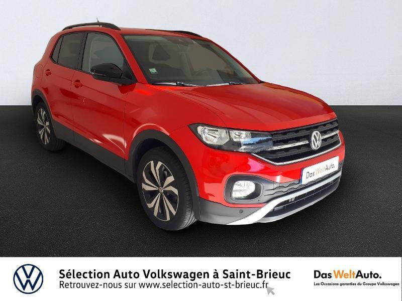 Volkswagen T-Cross 1.0 TSI 95ch Lounge Essence ROUGE Occasion à vendre
