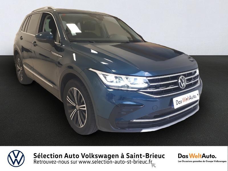 Volkswagen Tiguan 2.0 TDI 150ch Elegance DSG7 Diesel NIGHTSHADE BLUE Occasion à vendre