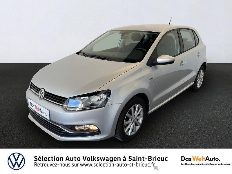 Volkswagen Polo 1.2 TSI 90ch BlueMotion Technology Lounge 5p Essence GRIS Occasion à vendre