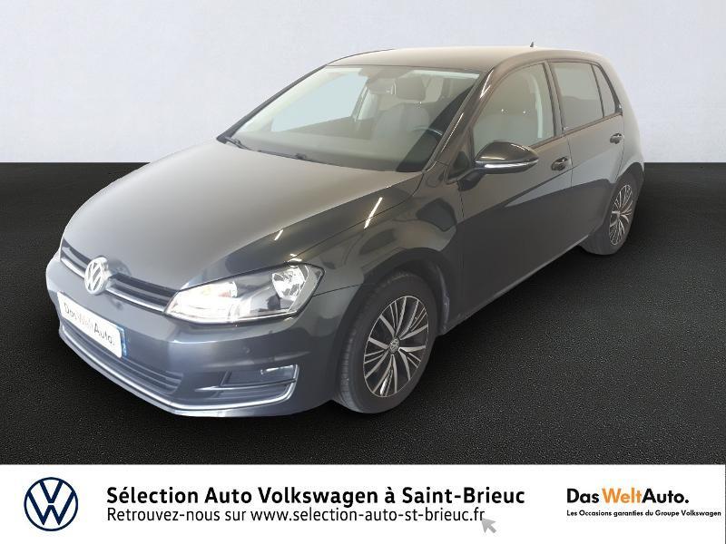 Volkswagen Golf 1.6 TDI 110ch BlueMotion Technology FAP Allstar DSG7 5p Diesel GRIS CARBONE Occasion à vendre