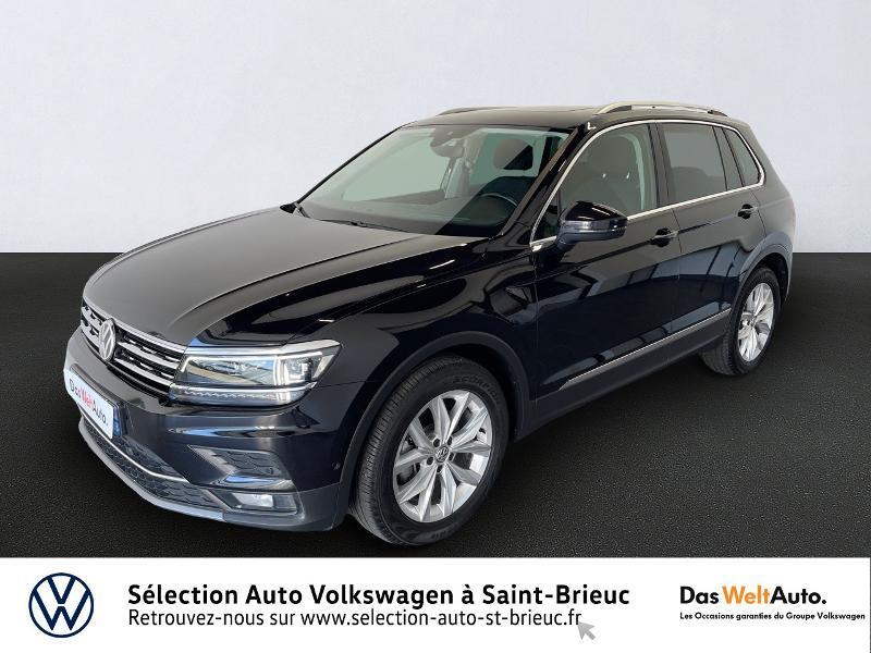 Volkswagen Tiguan 2.0 TDI 150ch Carat DSG7 Euro6d-T Diesel NOIR Occasion à vendre