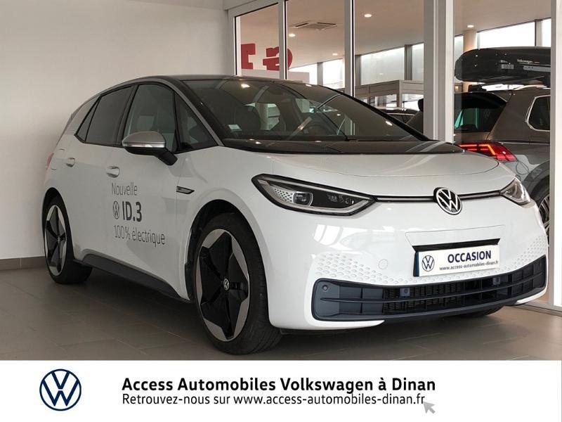 Volkswagen ID.3 204ch 1st Max Electrique BLANC GLACIER METAL Occasion à vendre