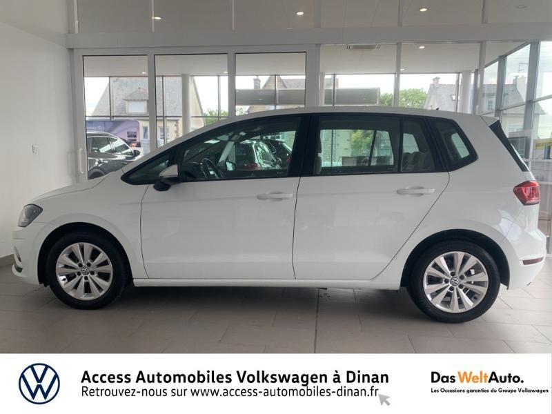 Photo 3 de l'offre de VOLKSWAGEN Golf Sportsvan 1.6 TDI 115ch BlueMotion Technology FAP Confortline Business DSG7 Euro6d-T à 17490€ chez Access Automobiles - Volkswagen Dinan