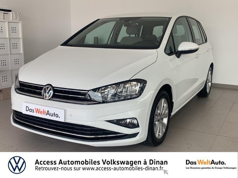 Photo 1 de l'offre de VOLKSWAGEN Golf Sportsvan 1.6 TDI 115ch BlueMotion Technology FAP Confortline Business DSG7 Euro6d-T à 17490€ chez Access Automobiles - Volkswagen Dinan