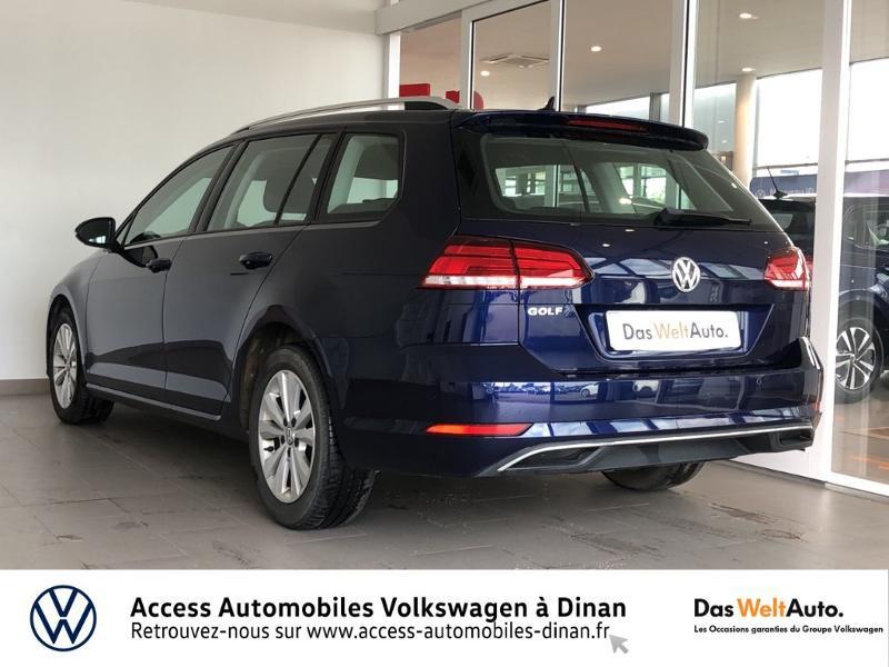 Photo 4 de l'offre de VOLKSWAGEN Golf SW 1.6 TDI 115ch FAP BlueMotion Technology Confortline Business à 14990€ chez Access Automobiles - Volkswagen Dinan