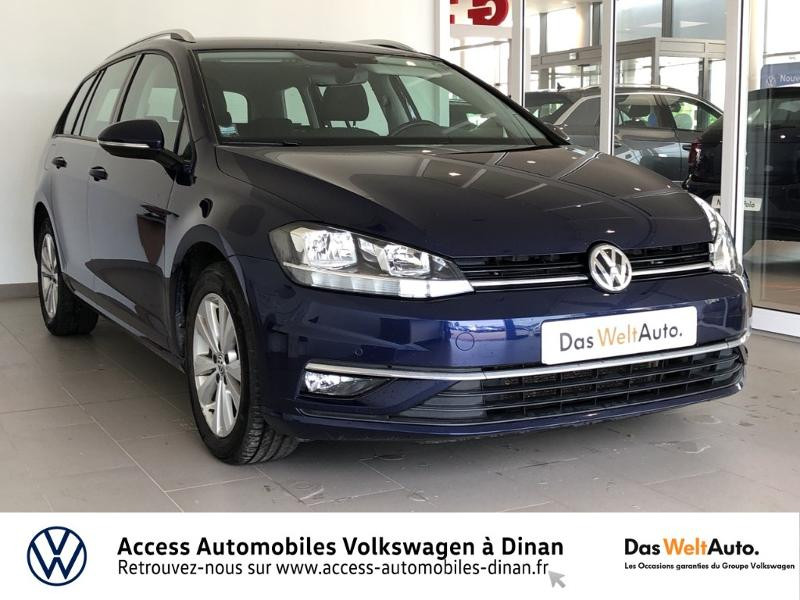 Photo 1 de l'offre de VOLKSWAGEN Golf SW 1.6 TDI 115ch FAP BlueMotion Technology Confortline Business à 14990€ chez Access Automobiles - Volkswagen Dinan