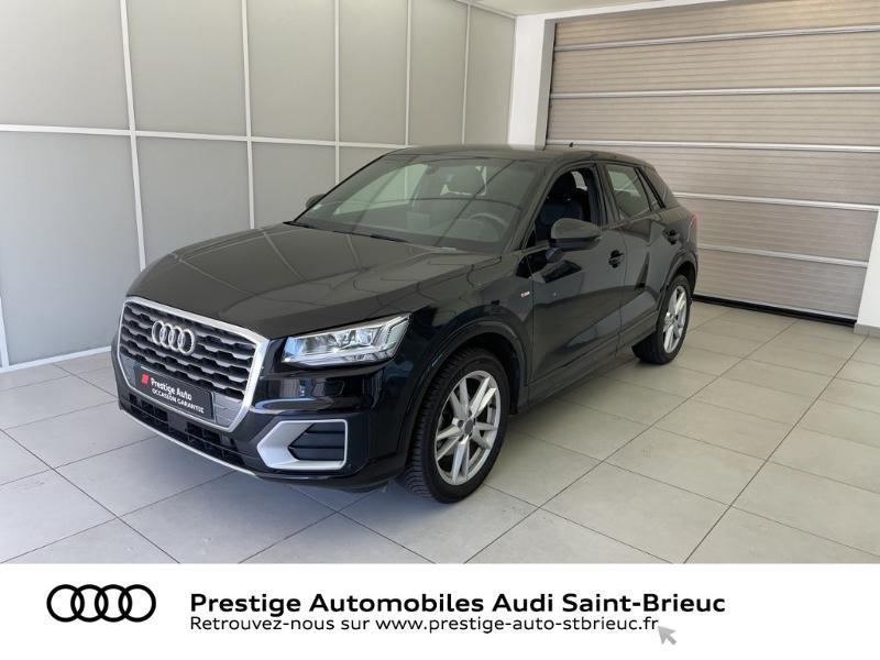 Audi Q2 30 TDI 116ch S line S tronic 7 Euro6d-T Diesel NOIR MYTHIC Occasion à vendre