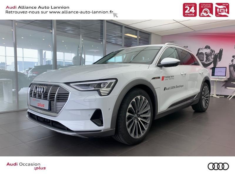 Audi e-tron 55 360ch Avus Extended e-quattro Electrique BLANC GLACIER METAL Occasion à vendre