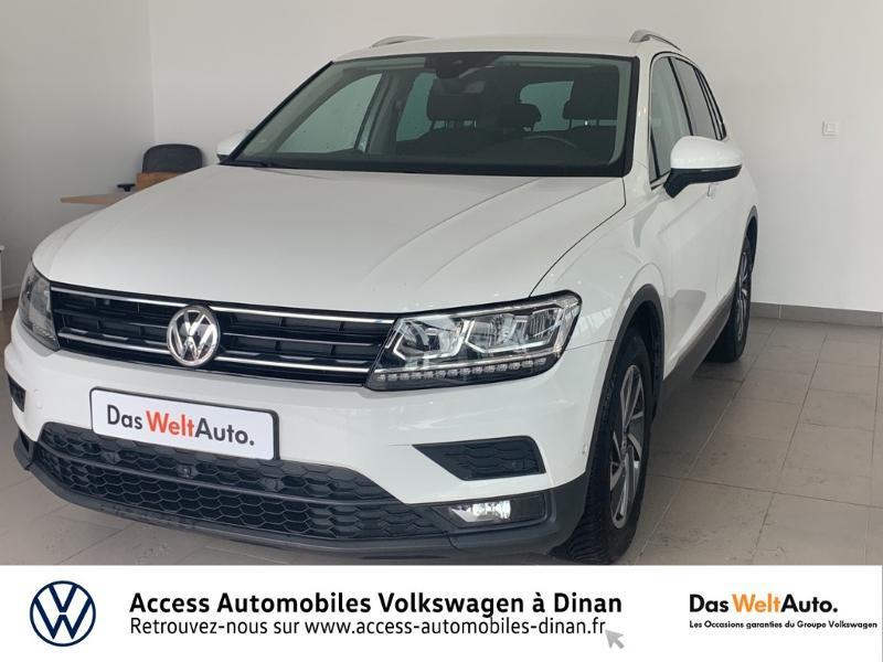 Volkswagen Tiguan 2.0 TDI 115ch Sound Diesel Blanc Occasion à vendre