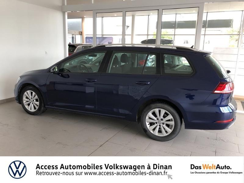 Photo 3 de l'offre de VOLKSWAGEN Golf SW 1.6 TDI 115ch FAP BlueMotion Technology Confortline Business à 14990€ chez Access Automobiles - Volkswagen Dinan