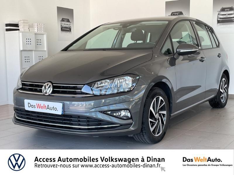 Volkswagen Golf Sportsvan 1.5 TSI EVO 130ch BlueMotion Technology Connect Euro6d-T Essence GRIS Occasion à vendre