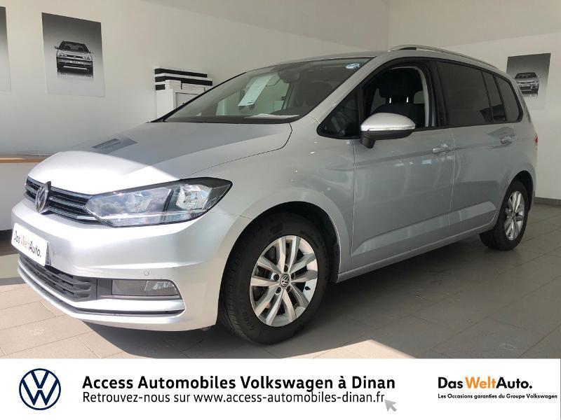 Volkswagen Touran 1.6 TDI 115ch BlueMotion Technology FAP Confortline Business 7 places Diesel REFLET D ARGENT Occasion à vendre