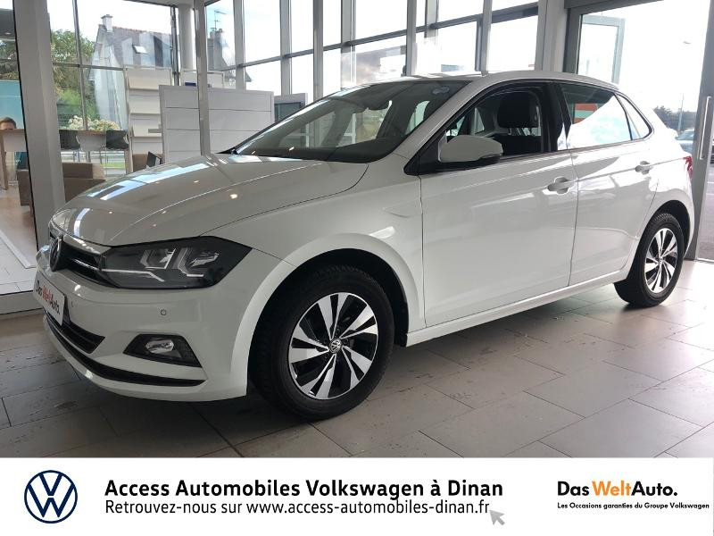 Volkswagen Polo 1.6 TDI 80ch Confortline Business Euro6d-T Diesel BLANC PUR Occasion à vendre