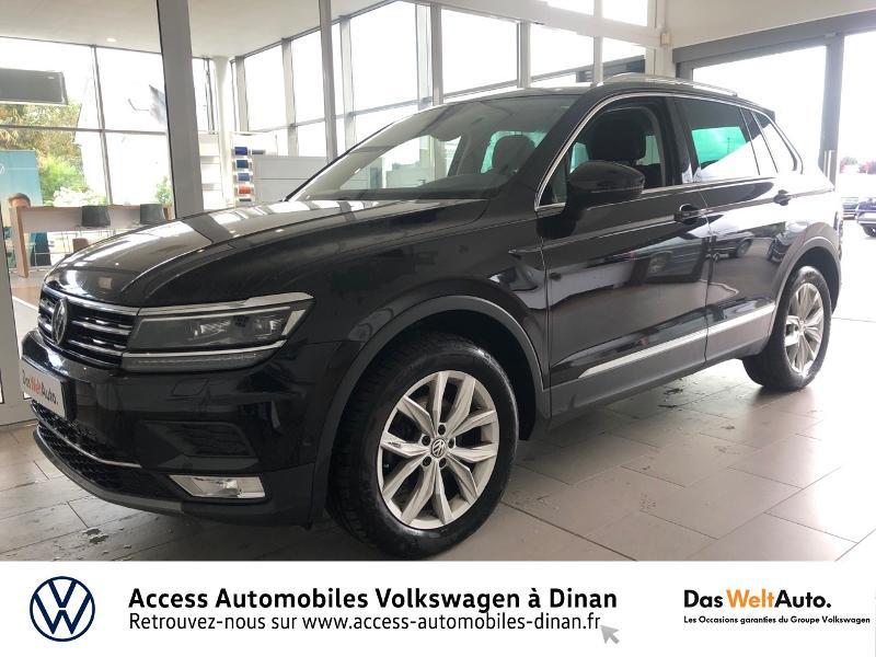 Volkswagen Tiguan 2.0 TDI 150ch BlueMotion Technology Carat 4Motion DSG7 Diesel NOIR Occasion à vendre