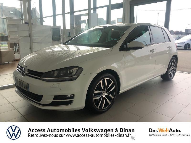 Volkswagen Golf 1.2 TSI 110ch BlueMotion Technology Match DSG7 5p Essence BLANC CANDY Occasion à vendre
