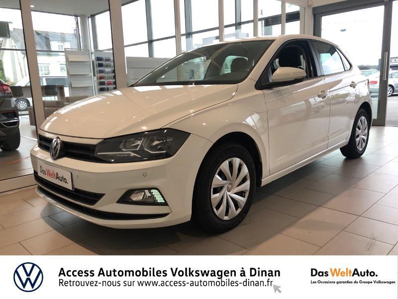 Volkswagen Polo 1.6 TDI 80ch Trendline Business Diesel BLANC Occasion à vendre
