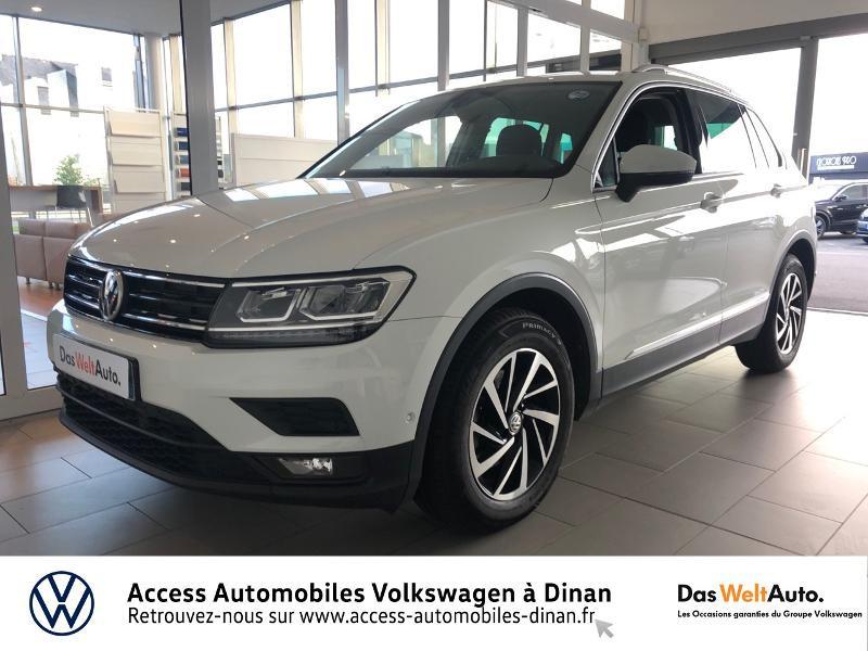 Volkswagen Tiguan 2.0 TDI 150ch Connect Diesel BLANC Occasion à vendre