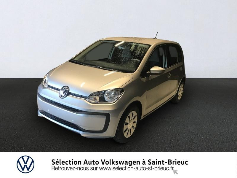 Volkswagen up! 1.0 60ch BlueMotion Technology Move up! 5p Euro6d-T Essence GRIS TUNGSTENE Occasion à vendre