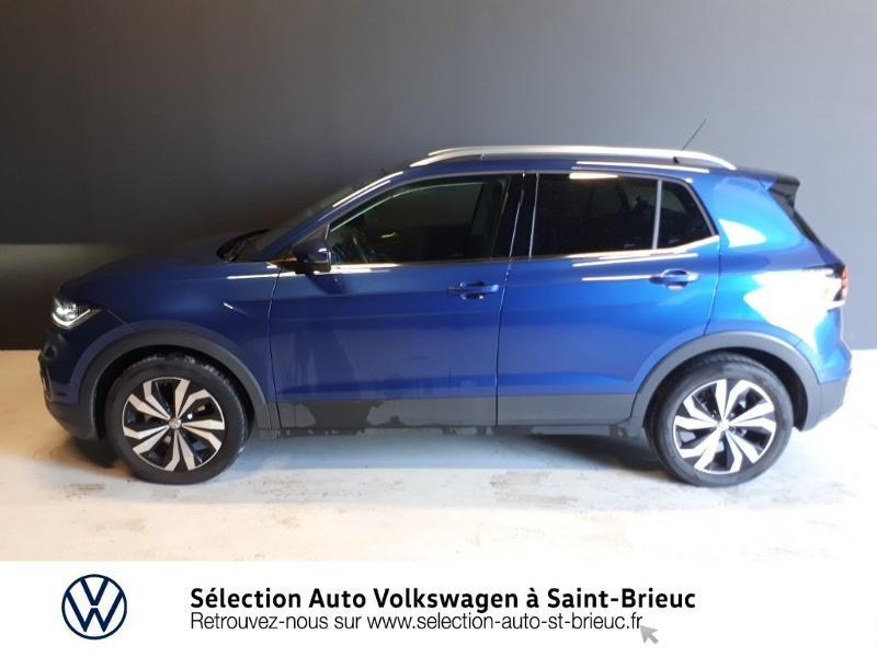 Photo 4 de l'offre de VOLKSWAGEN T-Cross 1.0 TSI 115ch Carat DSG7 à 23590€ chez Sélection Auto - Volkswagen Saint Brieuc