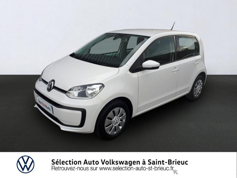 Volkswagen up! 1.0 60ch BlueMotion Technology Move up! 5p Euro6d-T Essence BLANC Occasion à vendre