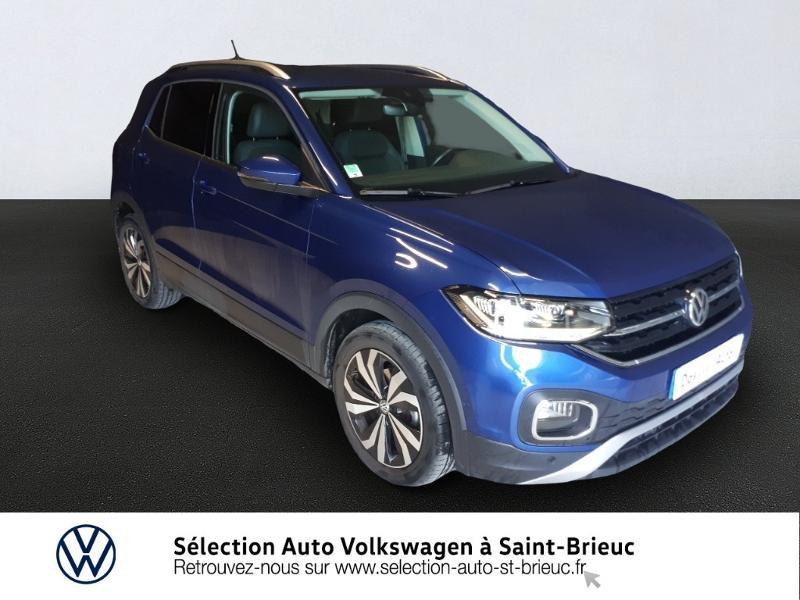 Volkswagen T-Cross 1.0 TSI 115ch Carat DSG7 Essence BLEU RECIF Occasion à vendre