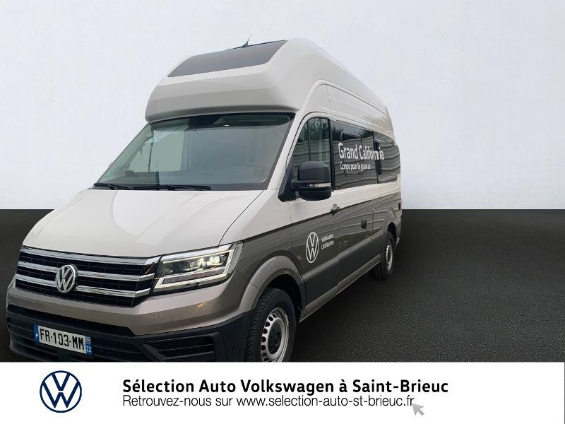 Volkswagen Grand california 600 Diesel blanc candy / beige mojawe Occasion à vendre