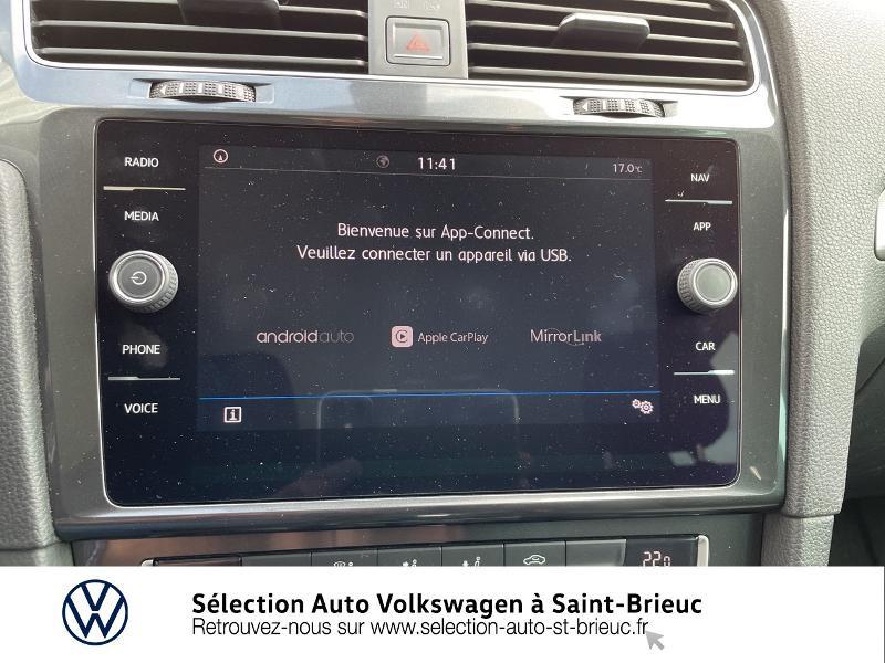 Photo 15 de l'offre de VOLKSWAGEN Golf 1.6 TDI 115ch FAP Confortline Business DSG7 5p à 16490€ chez Sélection Auto - Volkswagen Saint Brieuc