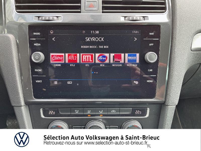 Photo 8 de l'offre de VOLKSWAGEN Golf 1.6 TDI 115ch FAP Confortline Business DSG7 5p à 16490€ chez Sélection Auto - Volkswagen Saint Brieuc