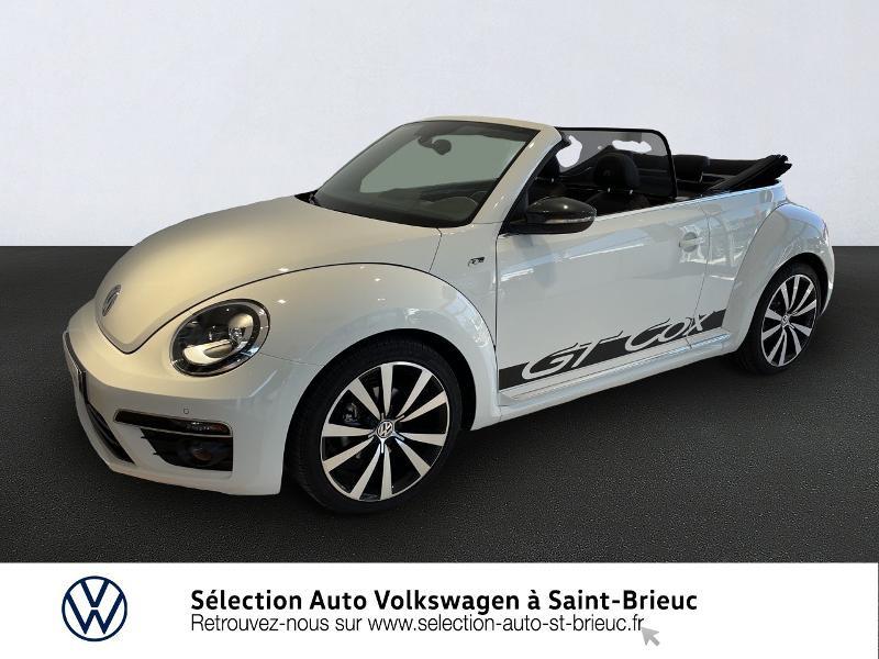 Volkswagen Coccinelle Cabriolet 2.0 TDI 150ch BlueMotion Technology FAP GT Cox DSG6 Diesel BLANC PUR Occasion à vendre