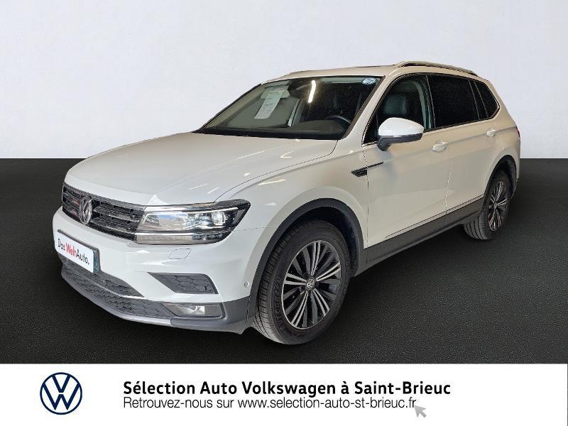 Volkswagen Tiguan Allspace 2.0 TDI 150ch Carat Exclusive DSG7 Diesel BLANC PUR Occasion à vendre