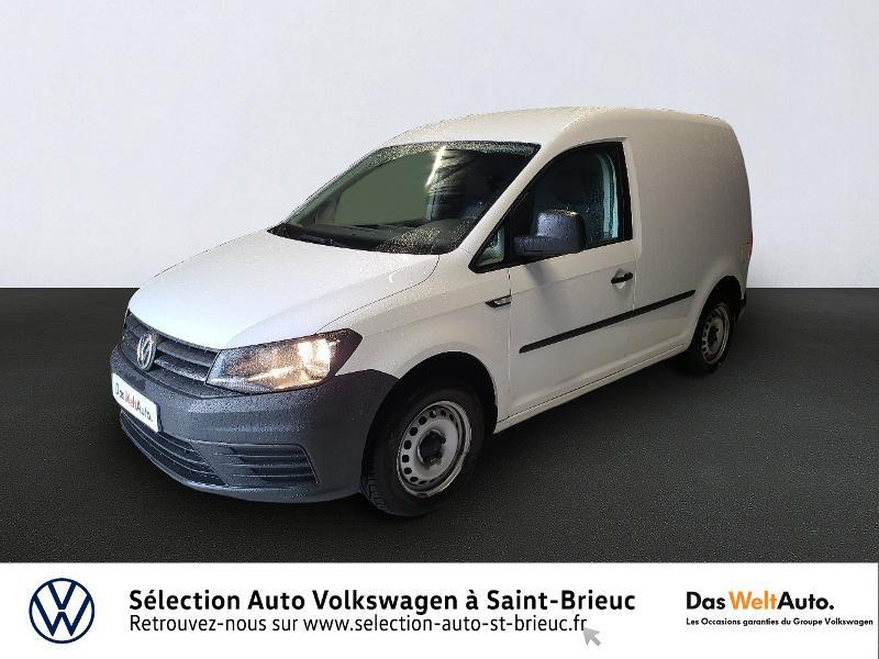 Volkswagen Caddy Van 2.0 TDI 102ch Business Line Diesel Blanc Occasion à vendre