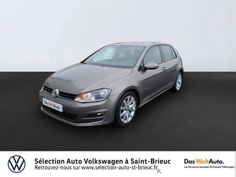 Photo 1 de l'offre de VOLKSWAGEN Golf 1.4 TSI 140ch ACT BlueMotion Technology Carat 5p à 13890€ chez Sélection Auto - Volkswagen Saint Brieuc