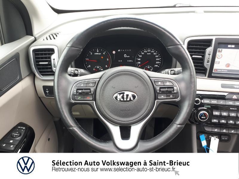 Photo 7 de l'offre de KIA Sportage 1.7 CRDi 115ch ISG Premium 4x2 à 19490€ chez Sélection Auto - Volkswagen Saint Brieuc