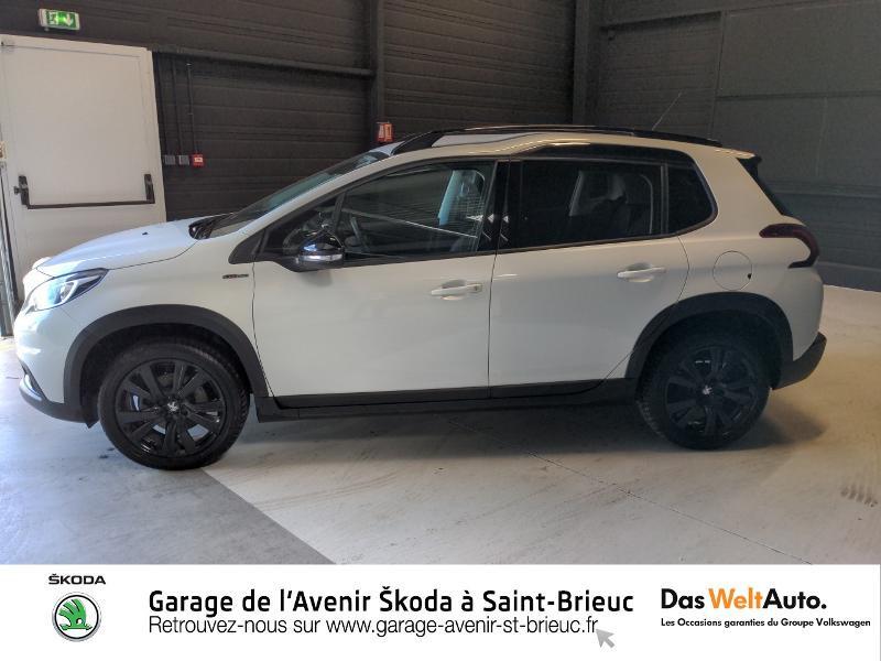Photo 2 de l'offre de PEUGEOT 2008 1.2 PureTech 130ch E6.c GT Line S&S à 17490€ chez Sélection Auto - Volkswagen Saint Brieuc