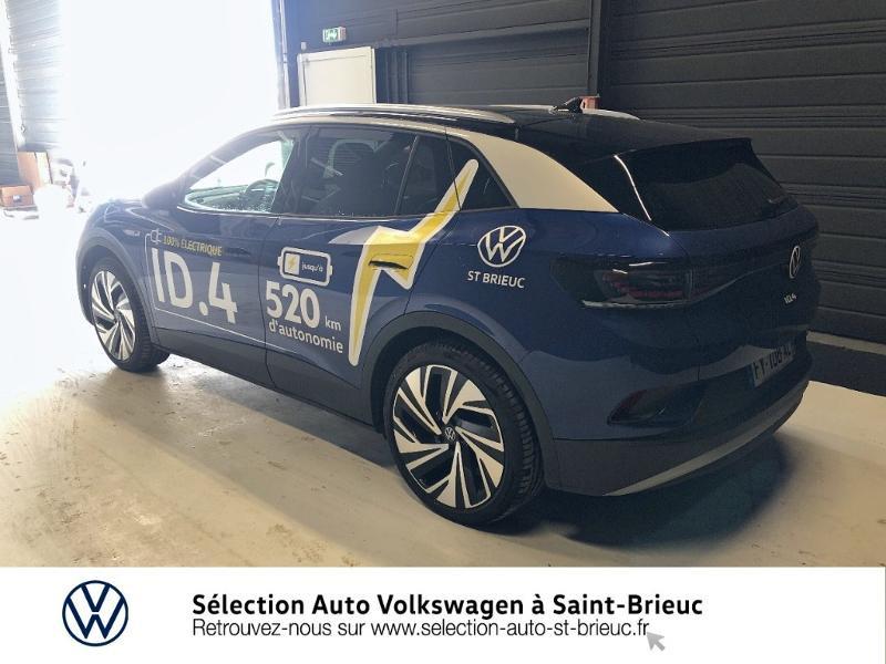 Photo 2 de l'offre de VOLKSWAGEN ID.4 204ch 1st Max à 51990€ chez Sélection Auto - Volkswagen Saint Brieuc