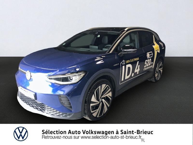 Photo 1 de l'offre de VOLKSWAGEN ID.4 204ch 1st Max à 51990€ chez Sélection Auto - Volkswagen Saint Brieuc