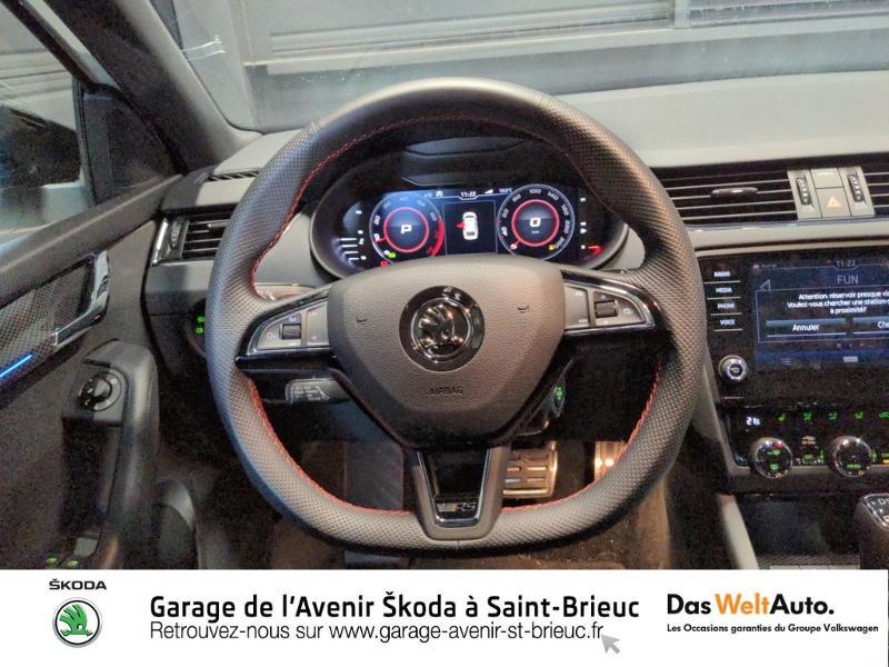 Photo 8 de l'offre de SKODA Octavia Break 2.0 TSI 245ch RS DSG7 Euro6d-T à 31790€ chez Sélection Auto - Volkswagen Saint Brieuc