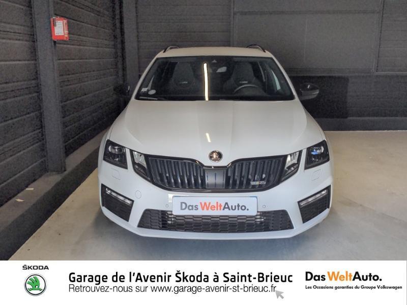 Photo 5 de l'offre de SKODA Octavia Break 2.0 TSI 245ch RS DSG7 Euro6d-T à 31790€ chez Sélection Auto - Volkswagen Saint Brieuc