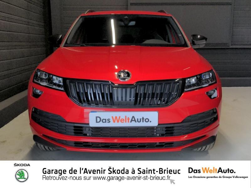Photo 5 de l'offre de SKODA Karoq 1.5 TSI ACT 150ch Sportline DSG Euro6d-T à 29490€ chez Sélection Auto - Volkswagen Saint Brieuc