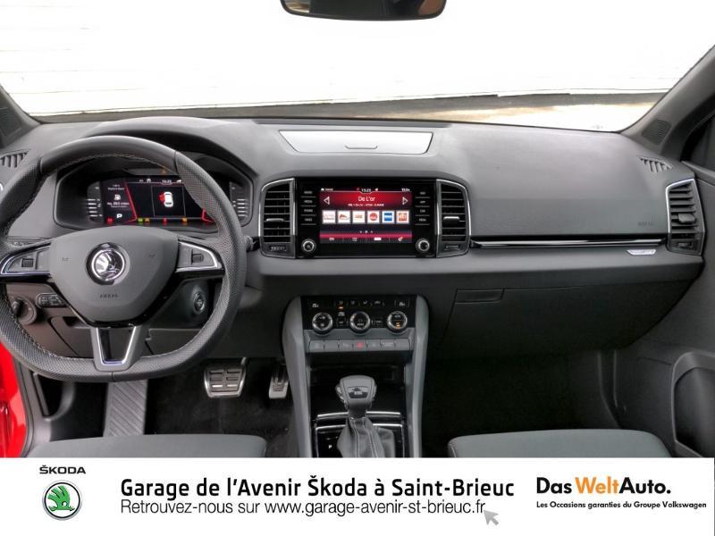 Photo 8 de l'offre de SKODA Karoq 1.5 TSI ACT 150ch Sportline DSG Euro6d-T à 29490€ chez Sélection Auto - Volkswagen Saint Brieuc