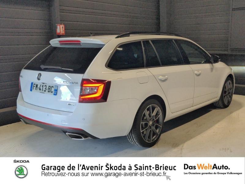 Photo 3 de l'offre de SKODA Octavia Break 2.0 TSI 245ch RS DSG7 Euro6d-T à 31790€ chez Sélection Auto - Volkswagen Saint Brieuc
